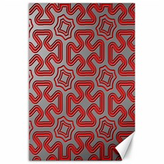 Christmas Wrap Pattern Canvas 24  X 36