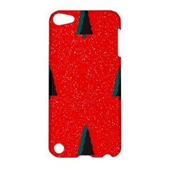 Christmas Time Fir Trees Apple Ipod Touch 5 Hardshell Case by Nexatart