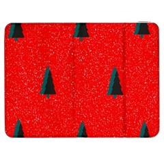 Christmas Time Fir Trees Samsung Galaxy Tab 7  P1000 Flip Case by Nexatart