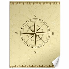 Compass Vintage South West East Canvas 36  X 48   by Nexatart