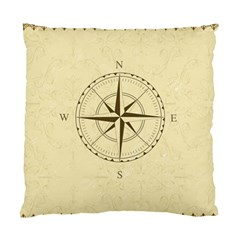 Compass Vintage South West East Standard Cushion Case (two Sides)