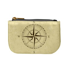 Compass Vintage South West East Mini Coin Purses by Nexatart