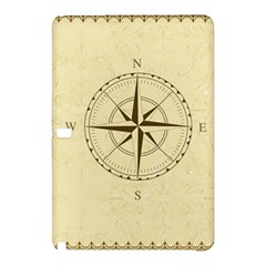 Compass Vintage South West East Samsung Galaxy Tab Pro 10 1 Hardshell Case by Nexatart