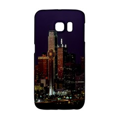 Dallas Texas Skyline Dusk Galaxy S6 Edge by Nexatart