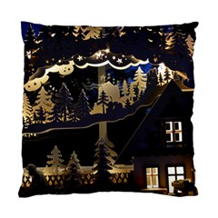 Christmas Advent Candle Arches Standard Cushion Case (two Sides) by Nexatart