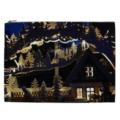 Christmas Advent Candle Arches Cosmetic Bag (xxl)