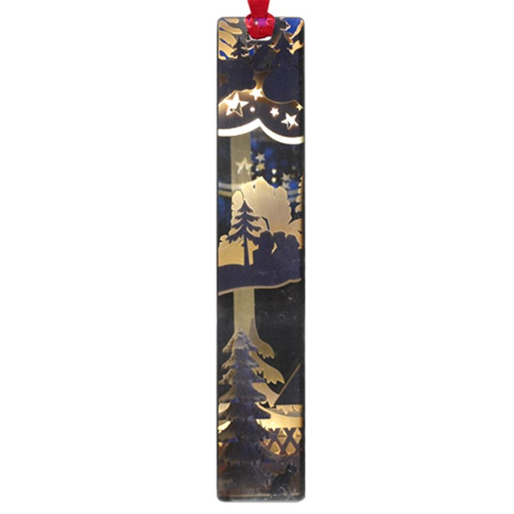 Christmas Advent Candle Arches Large Book Marks