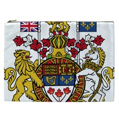 Coat Of Arms Of Canada  Cosmetic Bag (xxl)  by abbeyz71