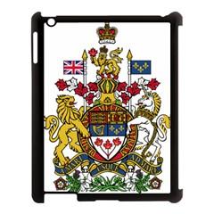 Coat Of Arms Of Canada  Apple Ipad 3/4 Case (black) by abbeyz71
