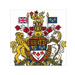 Coat Of Arms Of Canada  Small Satin Scarf (square) by abbeyz71