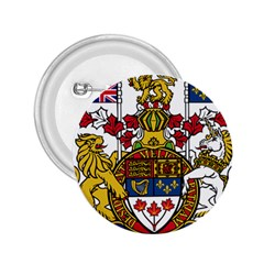 Canada Coat Of Arms  2 25  Buttons by abbeyz71