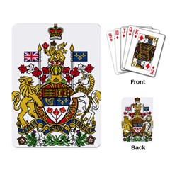Canada Coat Of Arms  Playing Card by abbeyz71
