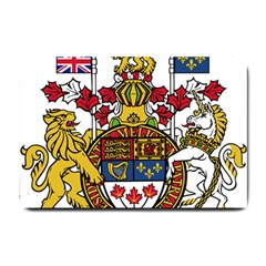 Canada Coat Of Arms  Small Doormat  by abbeyz71