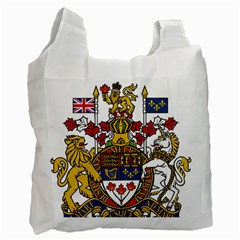 Canada Coat Of Arms  Recycle Bag (two Side)  by abbeyz71
