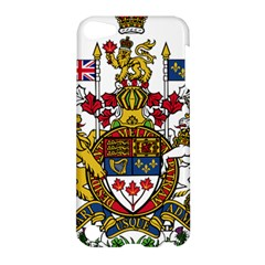 Canada Coat Of Arms  Apple Ipod Touch 5 Hardshell Case by abbeyz71
