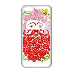 Life Is Art  Apple Iphone 5c Seamless Case (white) by Toriak