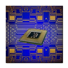 Processor Cpu Board Circuits Tile Coasters by Nexatart