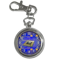 Processor Cpu Board Circuits Key Chain Watches by Nexatart