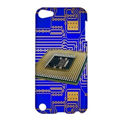 Processor Cpu Board Circuits Apple Ipod Touch 5 Hardshell Case by Nexatart