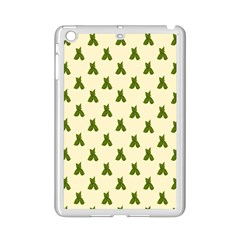Leaf Pattern Green Wallpaper Tea Ipad Mini 2 Enamel Coated Cases by Nexatart