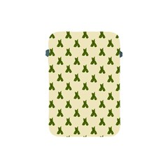 Leaf Pattern Green Wallpaper Tea Apple Ipad Mini Protective Soft Cases by Nexatart