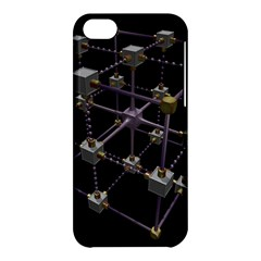 Grid Construction Structure Metal Apple Iphone 5c Hardshell Case by Nexatart