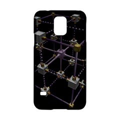 Grid Construction Structure Metal Samsung Galaxy S5 Hardshell Case  by Nexatart