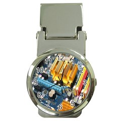 Technology Computer Chips Gigabyte Money Clip Watches by Nexatart