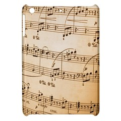 Music Notes Background Apple Ipad Mini Hardshell Case by Nexatart