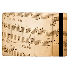Music Notes Background Ipad Air Flip by Nexatart