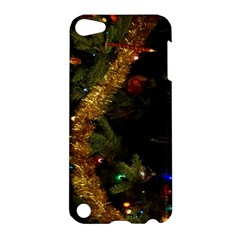 Night Xmas Decorations Lights  Apple Ipod Touch 5 Hardshell Case by Nexatart