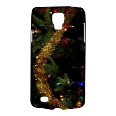 Night Xmas Decorations Lights  Galaxy S4 Active by Nexatart