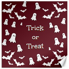 Halloween Free Card Trick Or Treat Canvas 20  X 20   by Nexatart