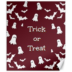 Halloween Free Card Trick Or Treat Canvas 20  X 24   by Nexatart