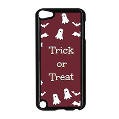 Halloween Free Card Trick Or Treat Apple Ipod Touch 5 Case (black) by Nexatart