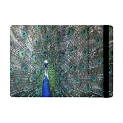Peacock Four Spot Feather Bird Apple Ipad Mini Flip Case by Nexatart
