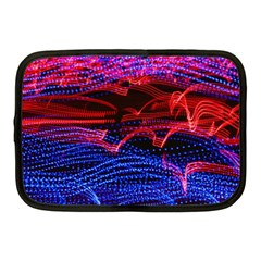 Lights Abstract Curves Long Exposure Netbook Case (medium)  by Nexatart