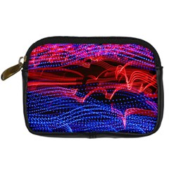 Lights Abstract Curves Long Exposure Digital Camera Cases by Nexatart