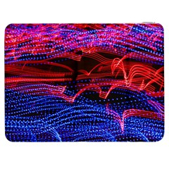 Lights Abstract Curves Long Exposure Samsung Galaxy Tab 7  P1000 Flip Case by Nexatart