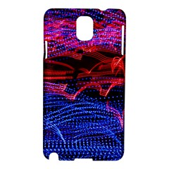 Lights Abstract Curves Long Exposure Samsung Galaxy Note 3 N9005 Hardshell Case by Nexatart