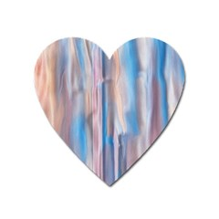 Vertical Abstract Contemporary Heart Magnet by Nexatart