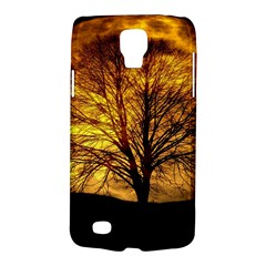 Moon Tree Kahl Silhouette Galaxy S4 Active by Nexatart