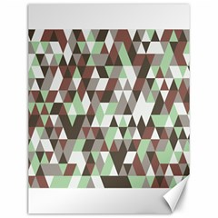 Pattern Triangles Random Seamless Canvas 12  X 16