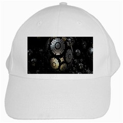 Fractal Sphere Steel 3d Structures White Cap by Nexatart