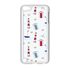 Seaside Beach Summer Wallpaper Apple Ipod Touch 5 Case (white)