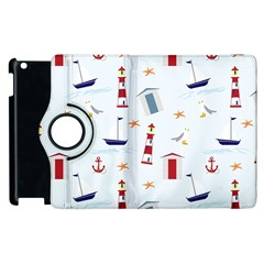 Seaside Beach Summer Wallpaper Apple Ipad 3/4 Flip 360 Case