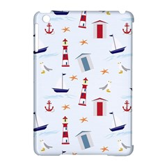 Seaside Beach Summer Wallpaper Apple Ipad Mini Hardshell Case (compatible With Smart Cover)