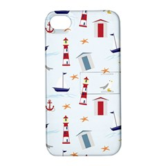 Seaside Beach Summer Wallpaper Apple Iphone 4/4s Hardshell Case With Stand