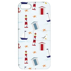 Seaside Beach Summer Wallpaper Apple Iphone 5 Hardshell Case With Stand