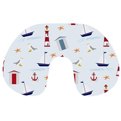 Seaside Beach Summer Wallpaper Travel Neck Pillows